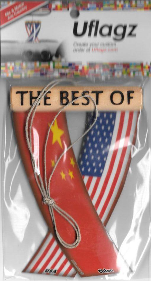 China - USA Packaged Flagz